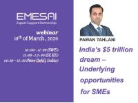 Veebiseminar: India's $5 trillion dream – Underlying opportunities for SMEs