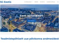 Valmis veebileht 5G Eestis