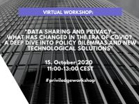 """Guardtime kutsub: Workshop """"Data Sharing and Privacy - What Has Changed in the Era of COVID?"""""""